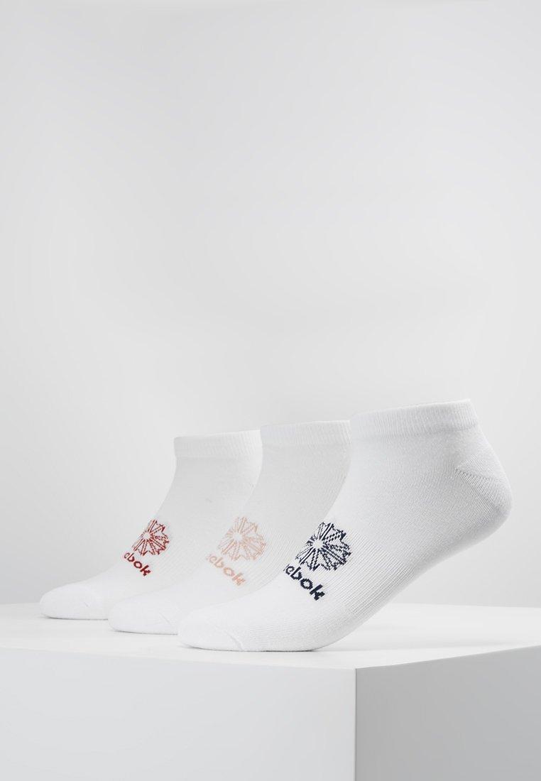 Reebok Classic - NO SHOW SOCK 3 PACK - Ponožky - white