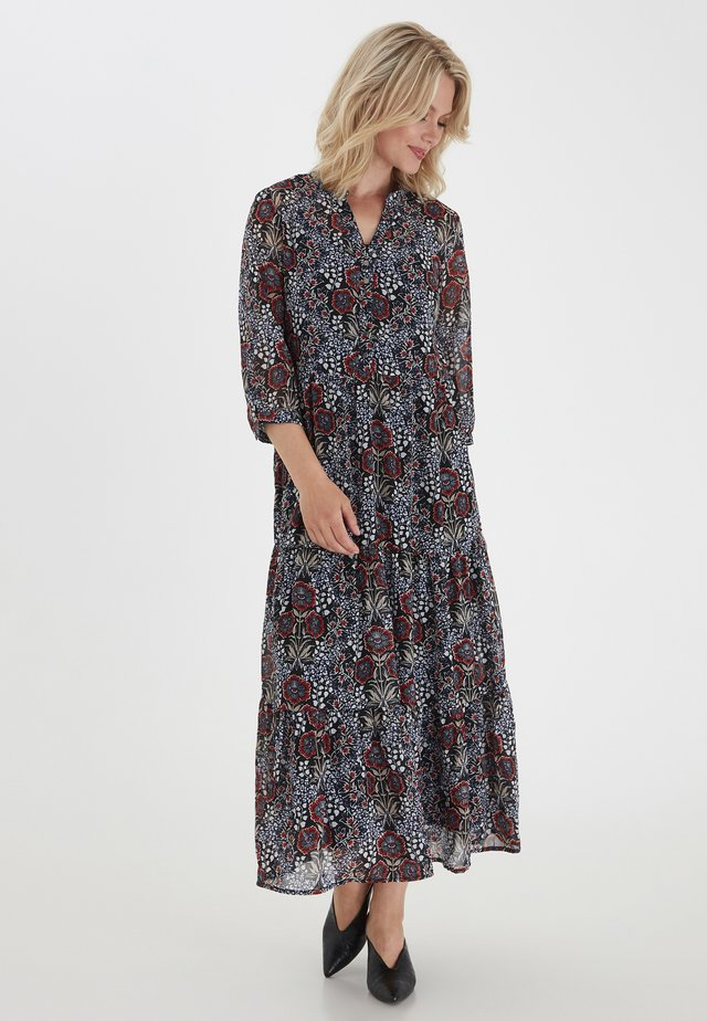 FRLACHIF 4  - Maxi dress - black flower