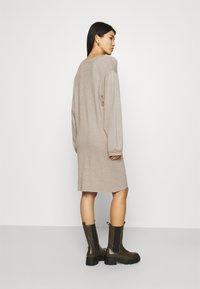 Zign - Strikket kjole - dark brown - 2