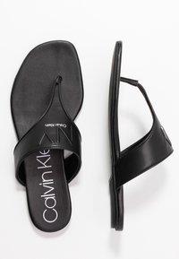 Calvin Klein - SABRE - Varvassandaalit - black - 2