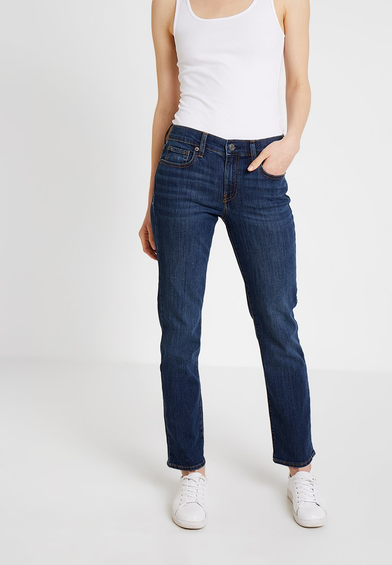 GAP - ASTOR - Jeans straight leg - dark indigo