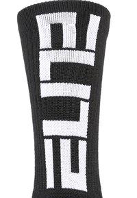Nike Performance - ELITE CREW 3 PACK - Urheilusukat - black/white - 1