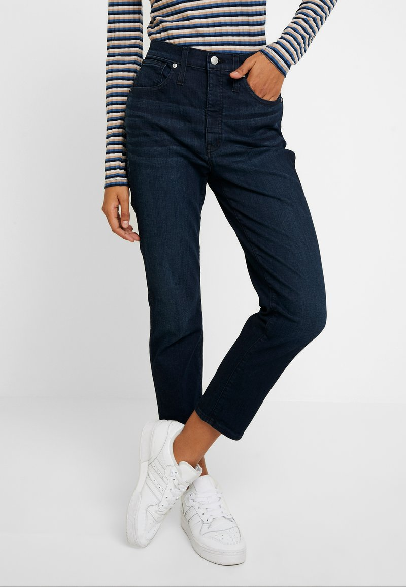 Madewell - STOVEPIPE - Straight leg jeans - birchland wash
