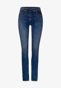 Cecil - MIT COOLEN TASCHEN - Slim fit jeans - blau - 3
