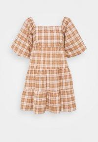 Faithfull the brand - ERYN MINI DRESS - Denní šaty - orange - 0