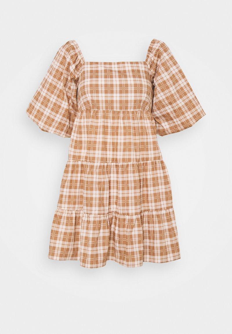 Faithfull the brand - ERYN MINI DRESS - Denní šaty - orange