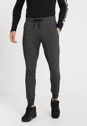 JJIWILL JJCLEAN PANTS - Pantalon de survêtement - dark grey melange