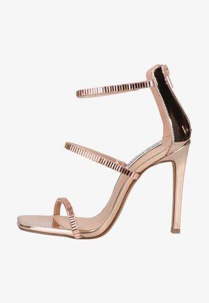 Højhælede sandaletter / Højhælede sandaler - rose gold