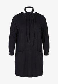 Zizzi - Jumper dress - black - 1