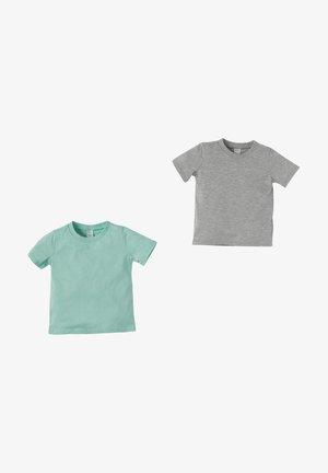 2 PACK - Basic T-shirt - turquoise