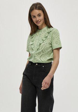 IDALIA  - Button-down blouse - matcha ice