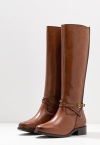 Dune London WIDE FIT - WIDE FIT TRUE - Boots - tan - 4