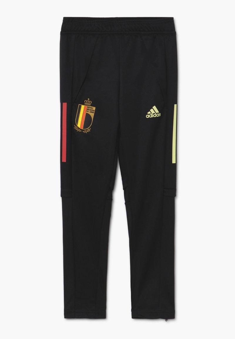 adidas Performance - BELGIUM RBFA TRAINING PANT - National team wear - black