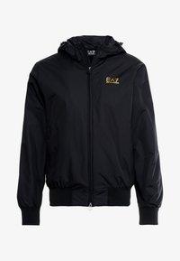 EA7 Emporio Armani - JACKET - Summer jacket - black - 3