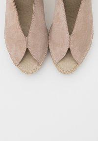 Vidorreta - High heeled sandals - piedra - 5