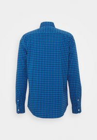 GAP - V-OXFORD BASICS SLIM FIT - Košile - blue gingham - 1