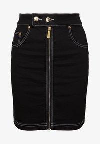 Ivyrevel - FRONT ZIP SKIRT - Pouzdrová sukně - black - 3