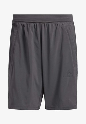 AEROREADY 3-STRIPES 8-INCH SHORTS - Korte sportsbukser - grey
