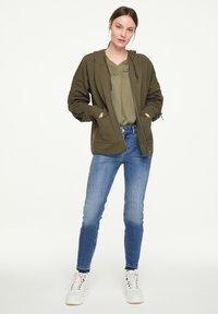 comma casual identity - Zip-up hoodie - khaki - 1