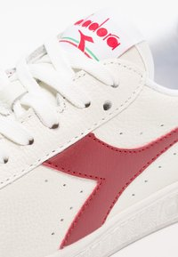 Diadora - GAME WAXED - Trainers - white/red pepper - 5