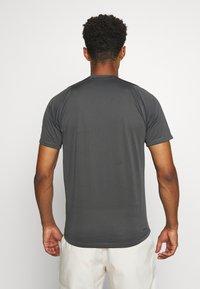 adidas Performance - T-shirt print - grey - 2