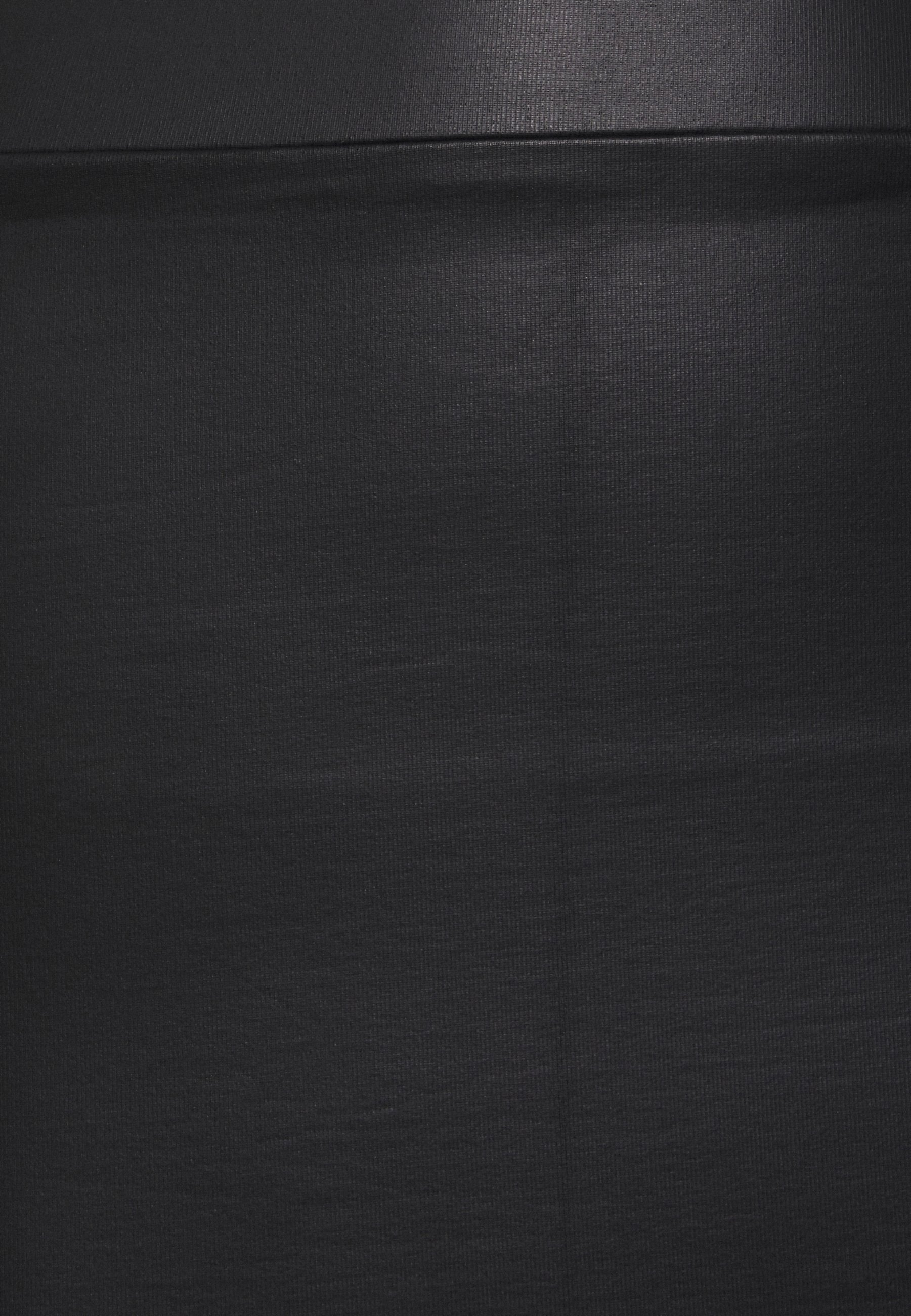 Femme PCNEW SHINY SKIRT - Jupe crayon