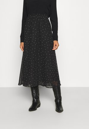 ONLTRACY ANCLE SKIRT - A-line skirt - black