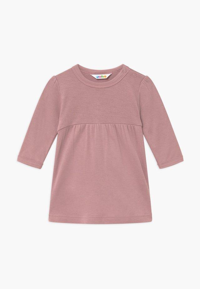 A-SHAPE - Robe en jersey - altes rosa
