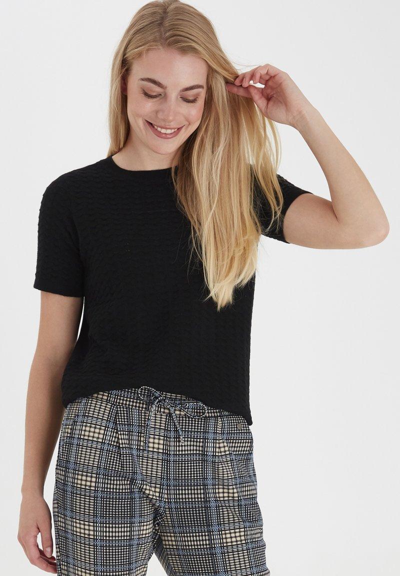 Fransa - T-shirts basic - black