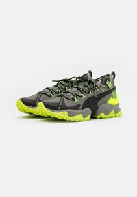Puma - ERUPT TRL - Trail running shoes - ultra gray/fizzy yellow - 1
