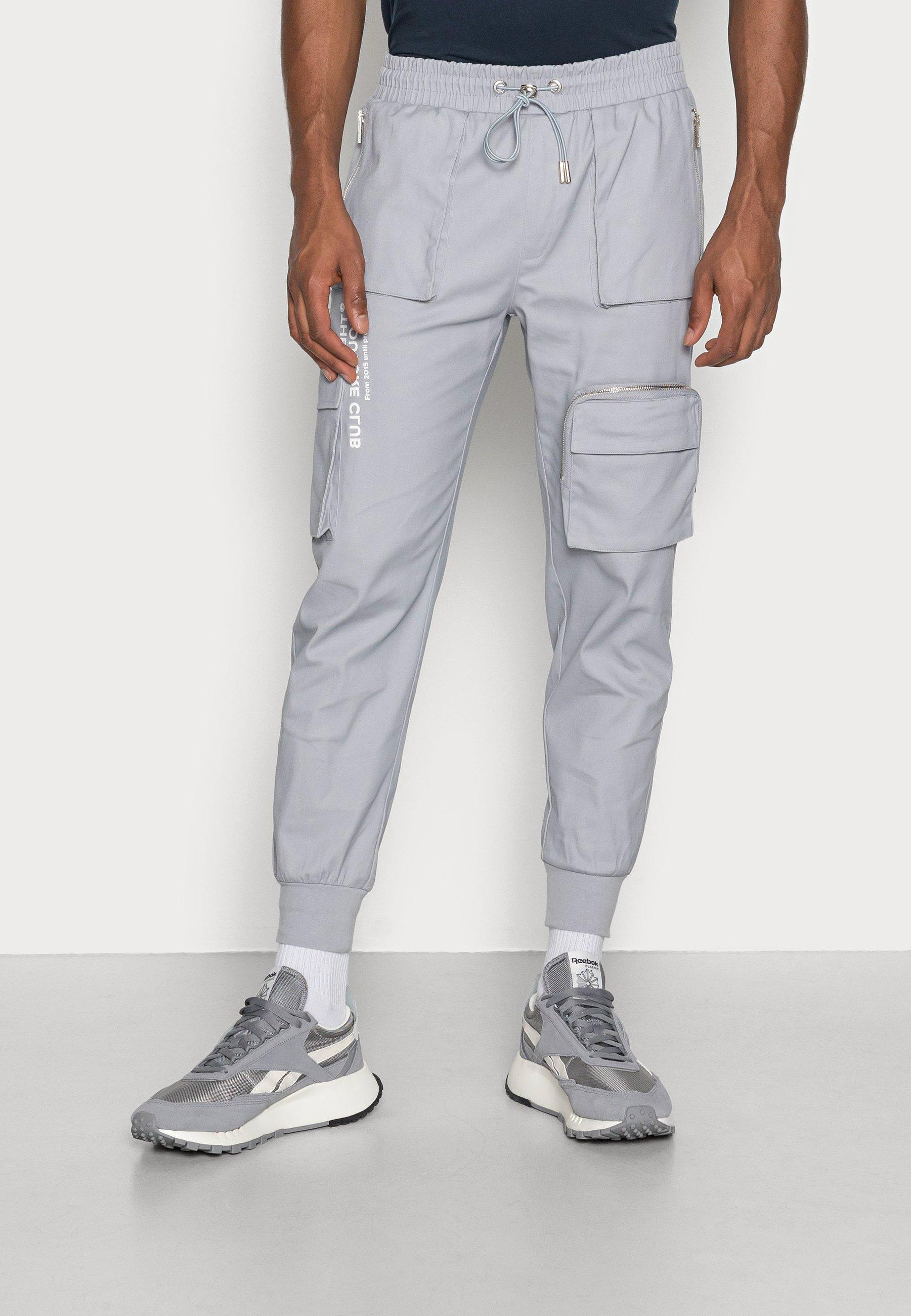 Men BELLOWED POCKET SIGNATURE  - Cargo trousers