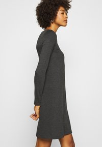 Anna Field - Jersey dress - dark grey melange - 3