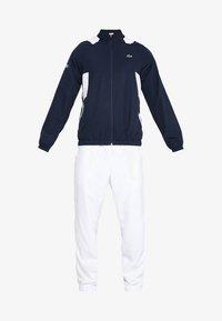 Lacoste Sport - TRACKSUIT - Träningsset - navy blue/white white - 9