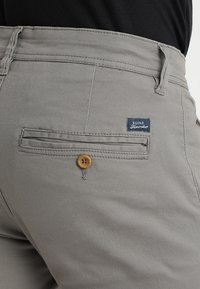 Blend - SLIM FIT - Chino kalhoty - granite - 4