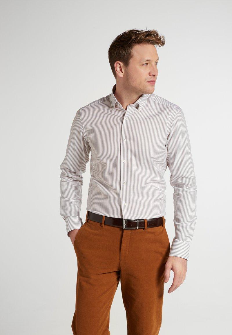 Eterna - SLIM FIT - Shirt - beige weiss