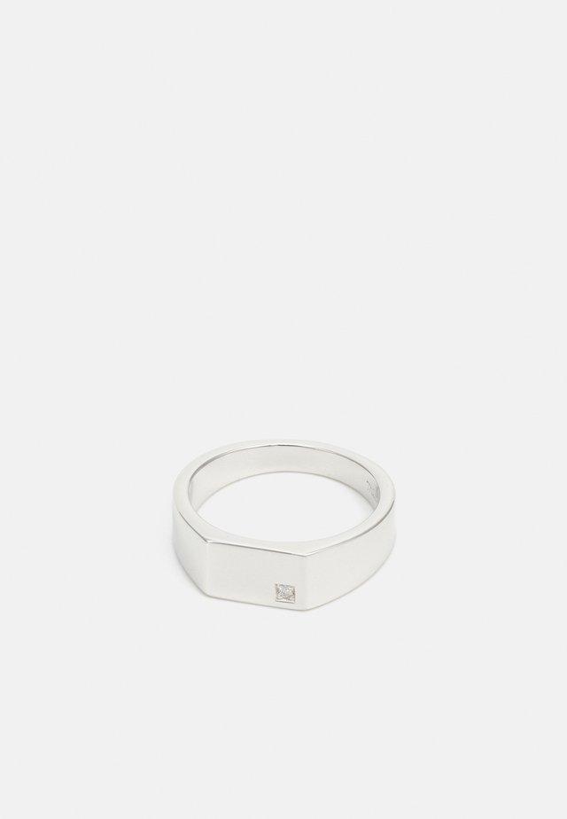 GEO SIGNET - Anillo - silver