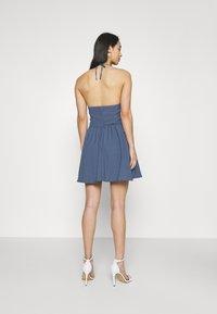 Fashion Union - ROMA DRESS - Day dress - blue - 2