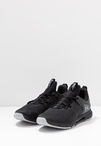 Under Armour - HOVR RISE  - Trainings-/Fitnessschuh - black/mod gray - 2