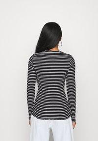 Even&Odd - Long sleeved top - black/white - 2