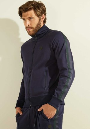 veste en sweat zippée - blau