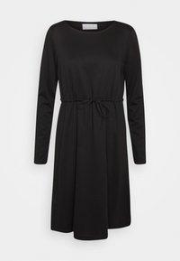 VIJUNER DRESS   - Jersey dress - black