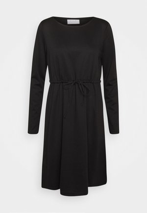 VIJUNER DRESS   - Žerzejové šaty - black