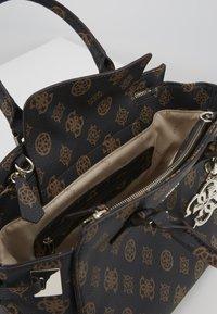 Guess - DIGITAL STATUS SATCHEL - Handbag - brown - 5