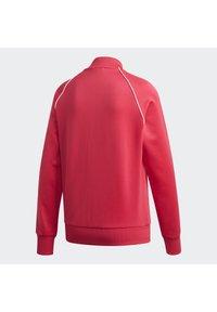 adidas Originals - TRACKTOP - Bombertakki - power pink/white - 9