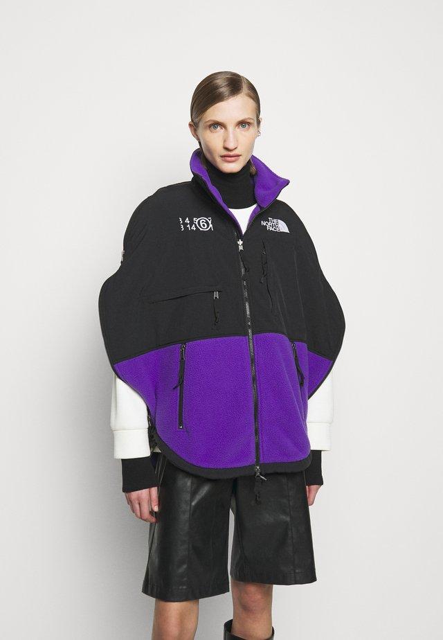 MM6 X THE NORTH FACE COAT - Fleece jacket - purple