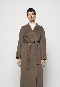 Filippa K - ALEXA COAT - Classic coat - dark taupe - 4