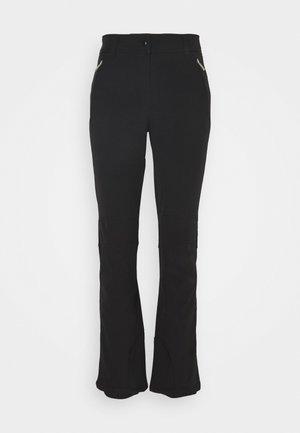 ENTIAT - Spodnie narciarskie - black