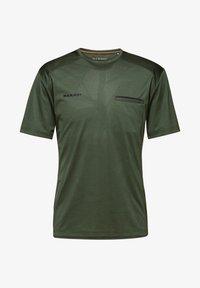 Mammut - CRASHIANO - Basic T-shirt - woods melange - 2
