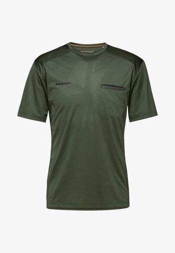 CRASHIANO - Basic T-shirt - woods melange