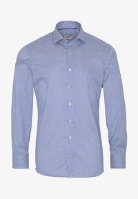 Eterna - SLIM FIT - Formal shirt - blau/weiß - 3